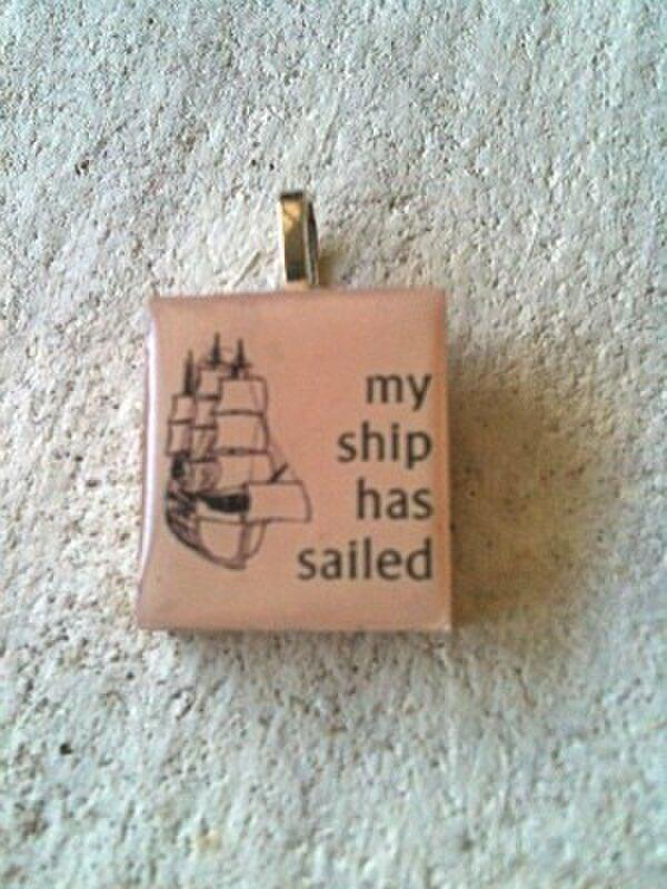my ship has sailed  スクラブルタイルの画像1枚目