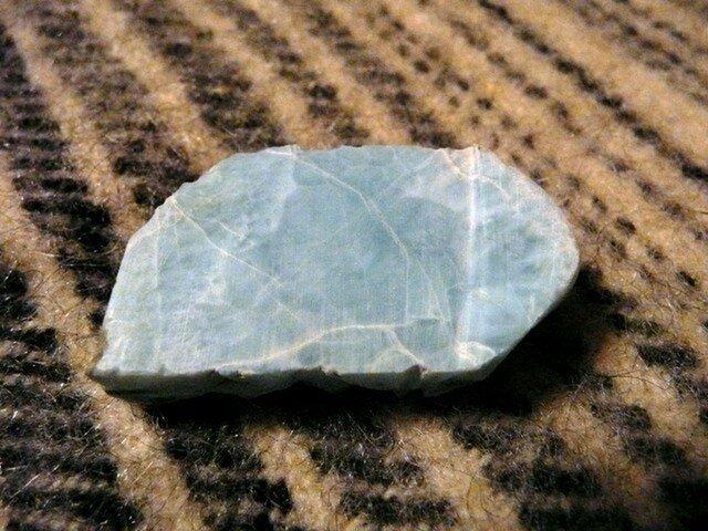 ラリマー原石の画像1枚目