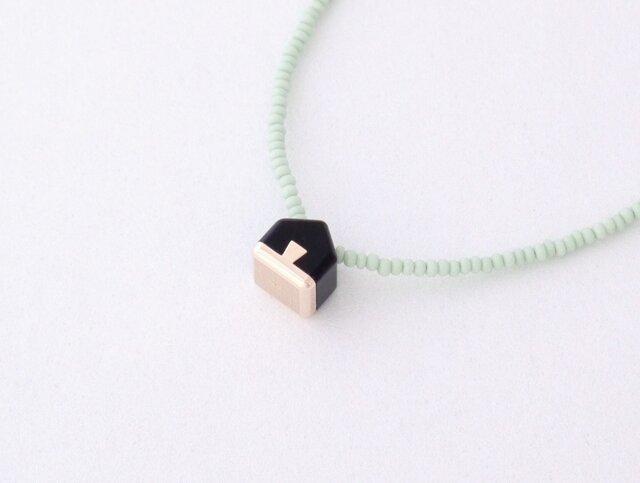 ネックレス Home mini   Black S11の画像1枚目