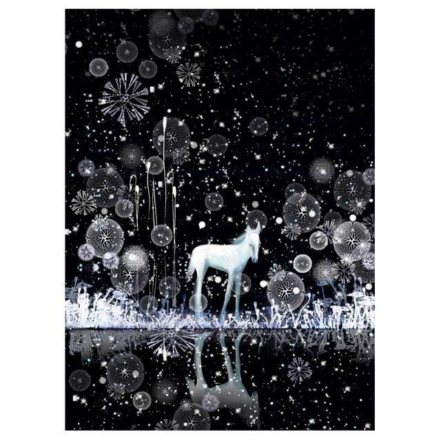 雪の降る音が聴こえるんだ 【A3】サイズ の画像1枚目