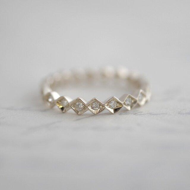 K18WG Eternity ring {R043K18WG}の画像1枚目