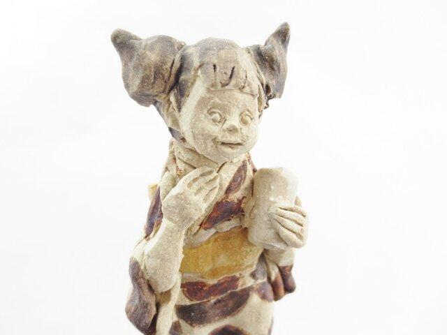 キモノさん -茶色みずたま-の画像1枚目