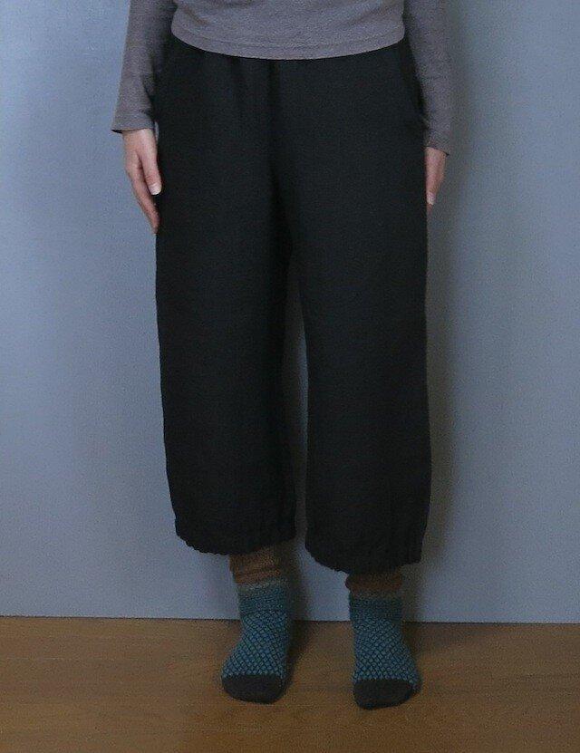 パンツand Black (裾ゴム入り)の画像1枚目