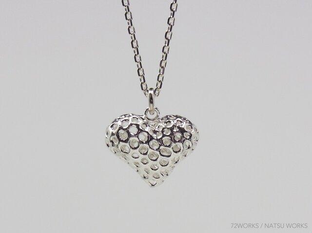 Line Heart Necklaceの画像1枚目