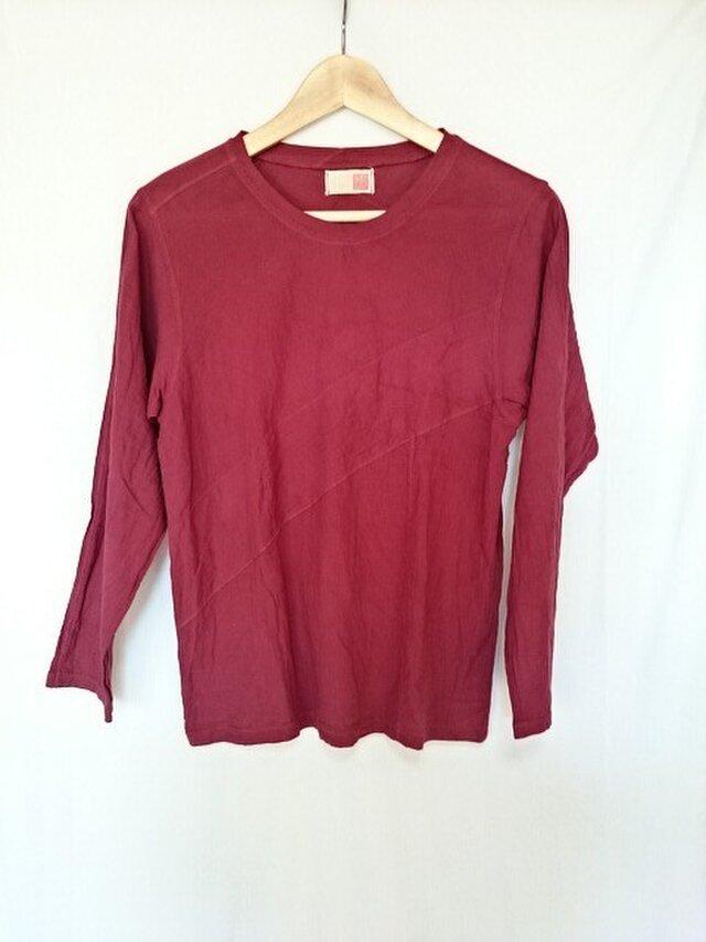 ロングスリーブガーゼTシャツの画像1枚目