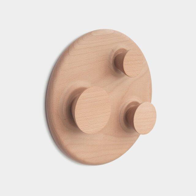木製ウォールハンガー - Orbit (L)の画像1枚目
