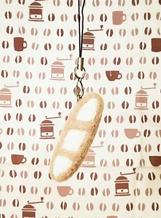 パンのストラップ フランスパンの画像1枚目