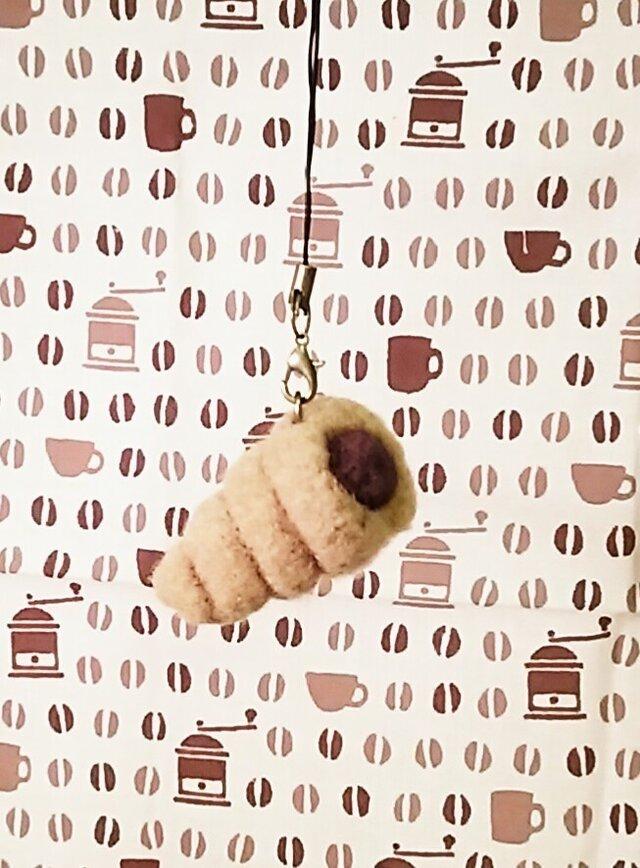 パンのストラップ チョココロネの画像1枚目