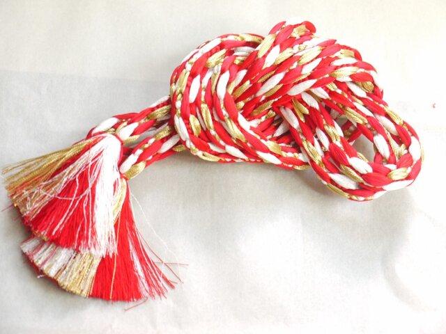 手組み正絹組紐【つくし(3色)】040M015012の画像1枚目