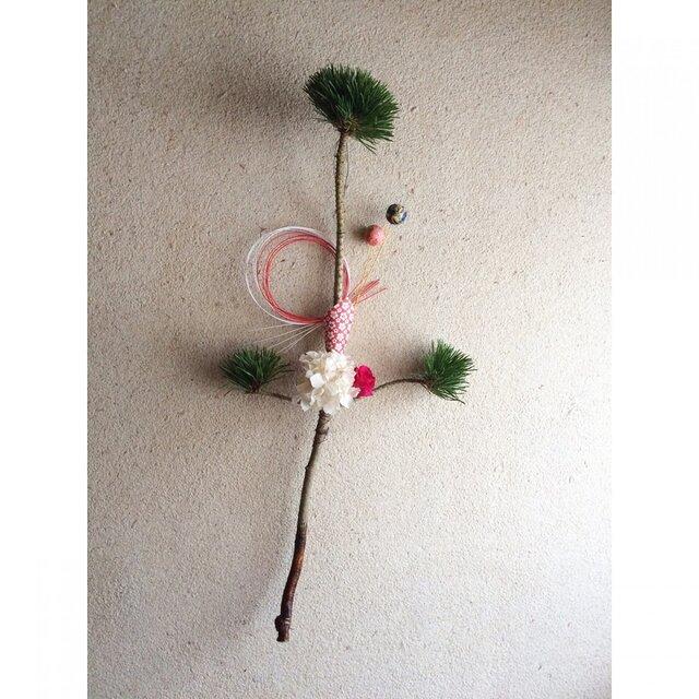 松飾り 梅の花の画像1枚目