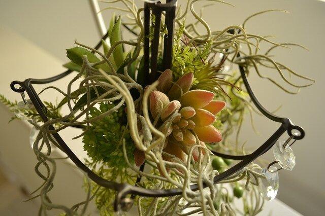 chandelier greenの画像1枚目