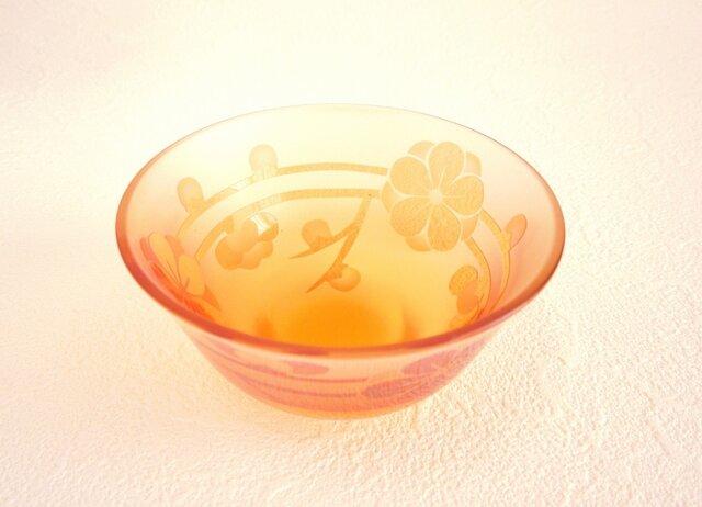 梅のお花のお猪口の画像1枚目