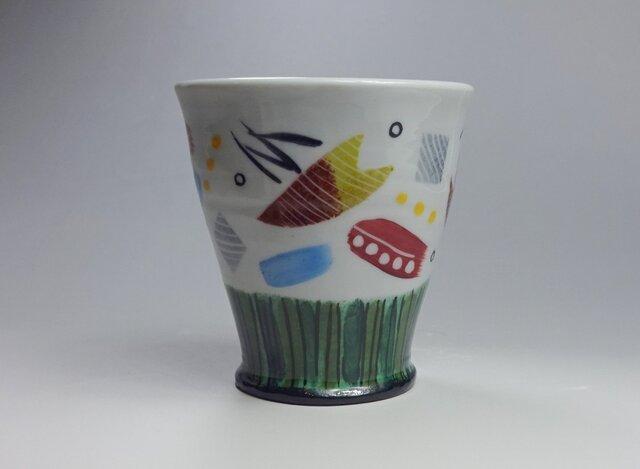 カラフルカップの画像1枚目