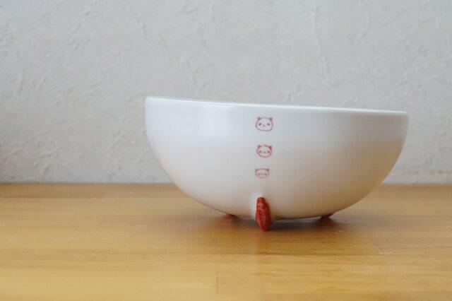 赤パンダロケット鉢の画像1枚目