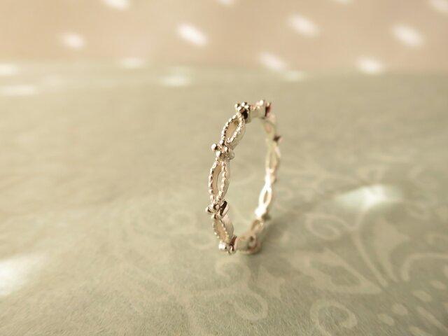 【受注制作】 SV  Garland Ringの画像1枚目