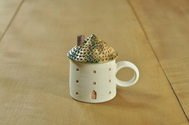 家のカップ(緑)の画像1枚目