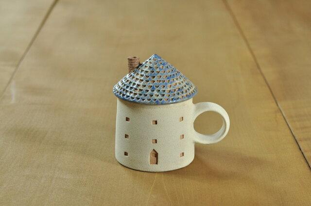 家のカップ(青)の画像1枚目