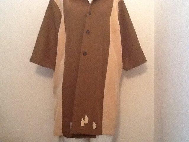 御所車模様のジャケットの画像1枚目