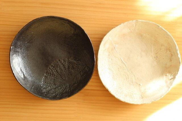 ※受注制作 白黒のパスタ皿。の画像1枚目
