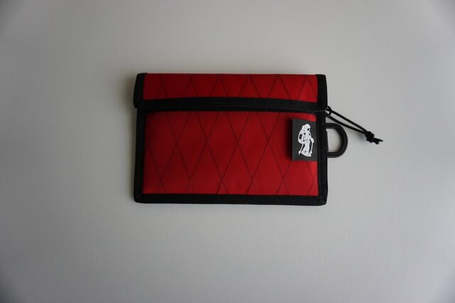 flap pouch  x-pac Redの画像1枚目