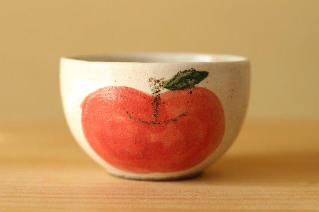 粉引きリンゴのボウル。の画像1枚目