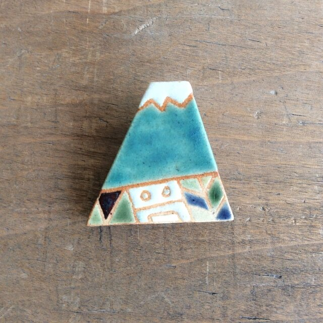 富士山ブローチ(№210)の画像1枚目