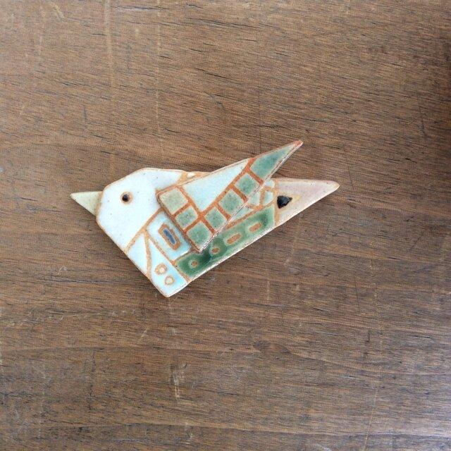 鳥ブローチ(№245)の画像1枚目
