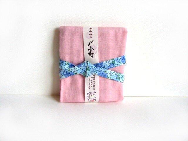 ふふふん〆小町M・ピンク×青バラの画像1枚目