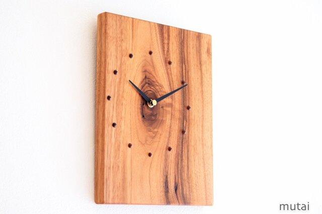 クルミの時計8の画像1枚目