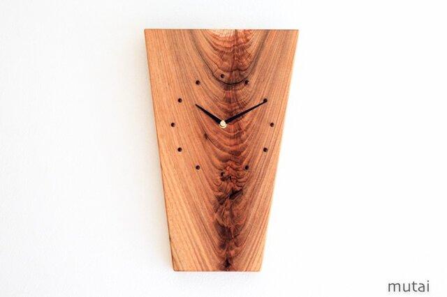 クルミの壁掛け時計9の画像1枚目