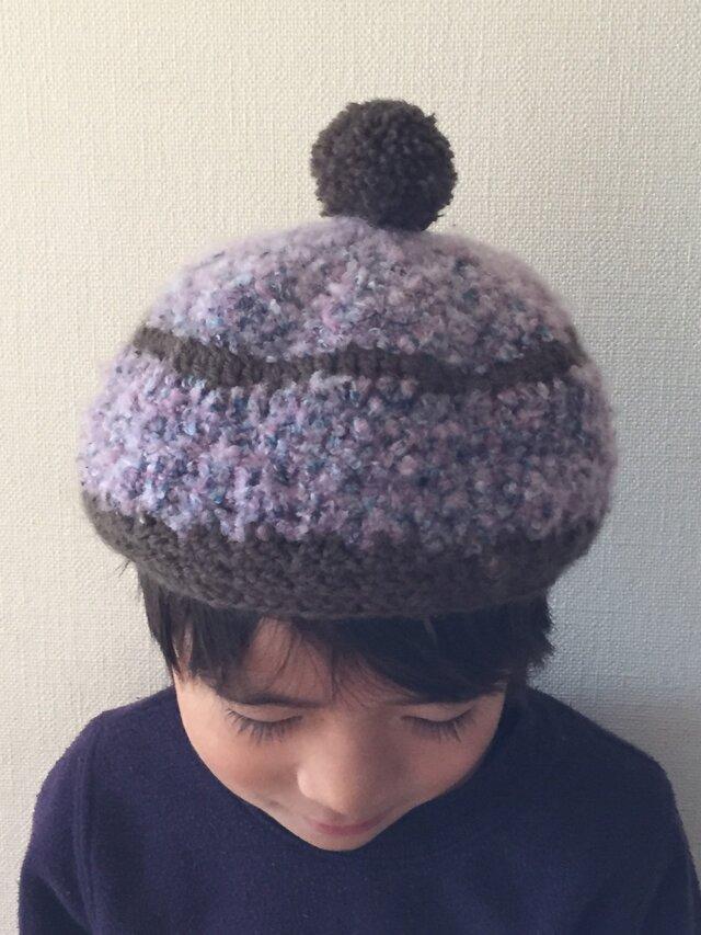 子供用ニット帽の画像1枚目