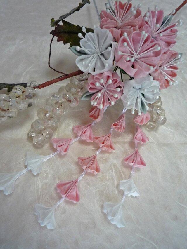 桜のかんざし Pinkの画像1枚目