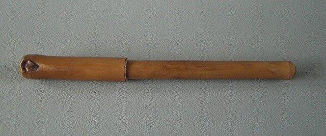 竹装飾ボールペン女竹の画像1枚目
