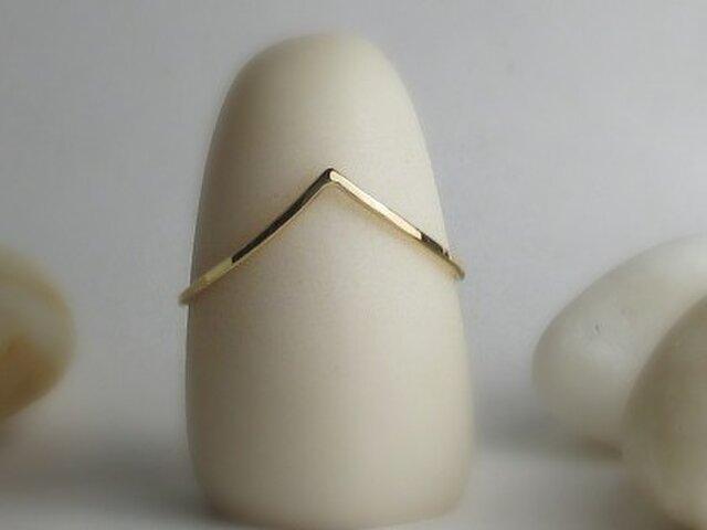 gold K18 Ring 0026の画像1枚目