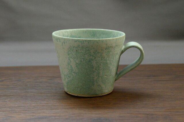 錆青磁釉 マグカップ(無地)の画像1枚目