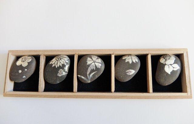 四季の花箸置きの画像1枚目