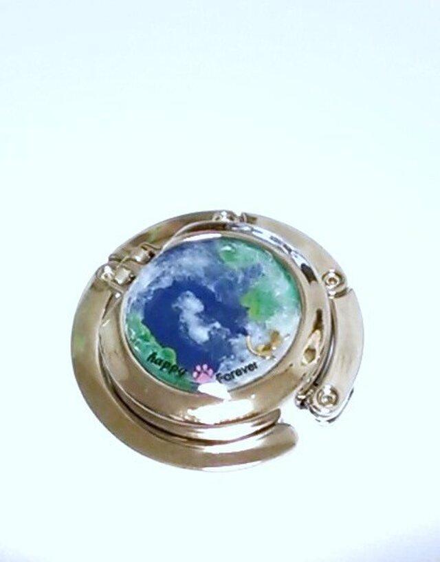 *terra*地球シリーズ~折りたたみ式バッグハンガーの画像1枚目