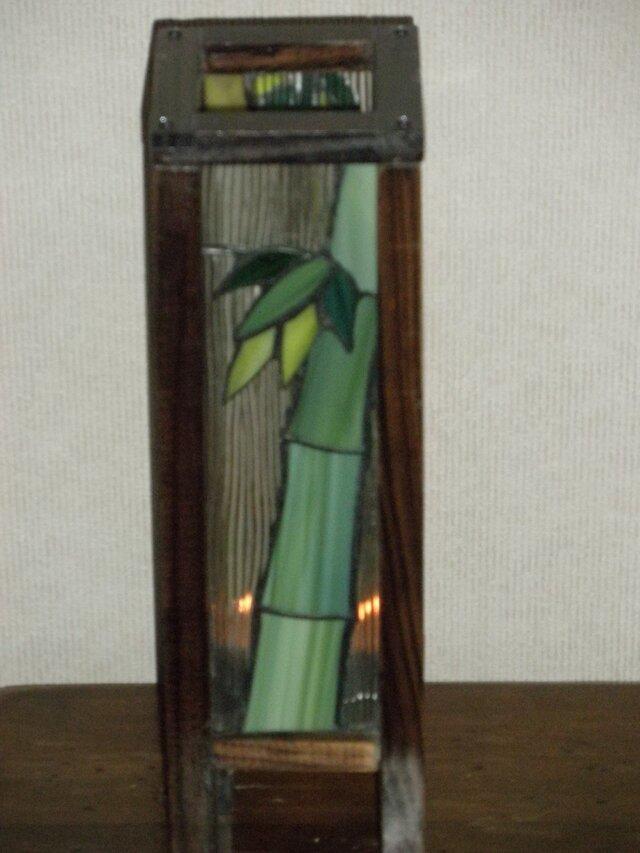 長型行灯(冬の竹林)の画像1枚目