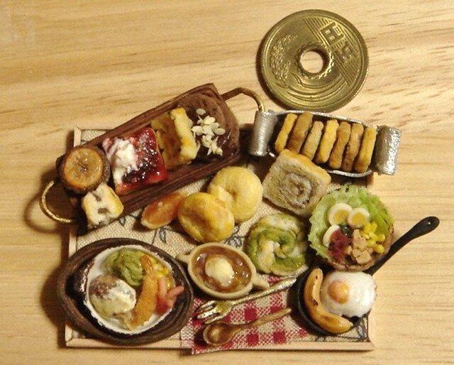★えびフライランチ&パウンドケーキにお菓子の画像1枚目