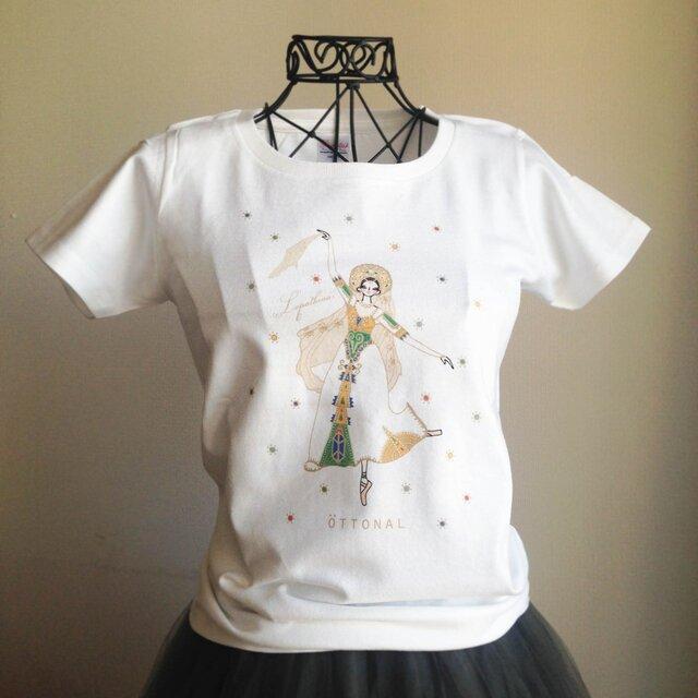 (即日発送・Lサイズ完売!)★ロパートキナ限定コラボ商品★ ロシアの踊りTシャツ(レディース)の画像1枚目
