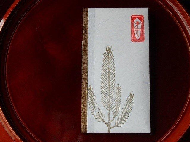 和紙祝儀袋 たとう包み 松の画像1枚目
