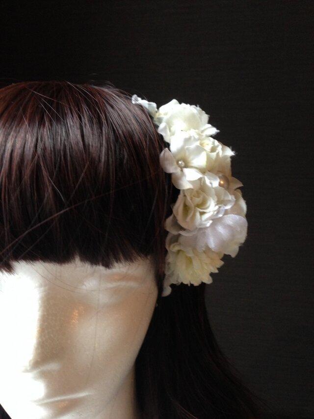 お花の詰合わせカチューシャ 4の画像1枚目