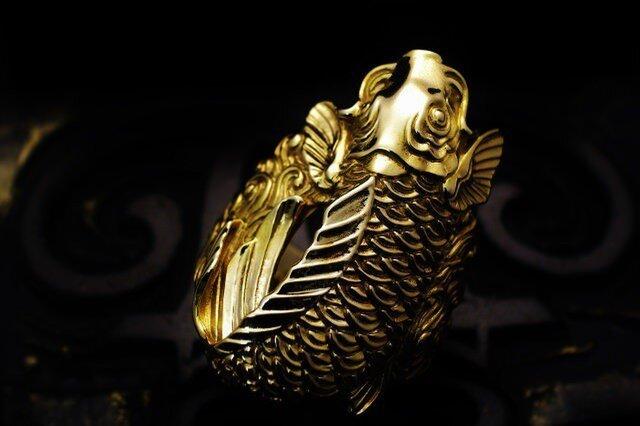 金鯉の指輪【ROF003RG】の画像1枚目