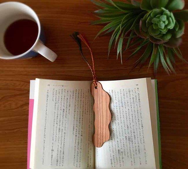 桜の木の Book Marker *雲*の画像1枚目
