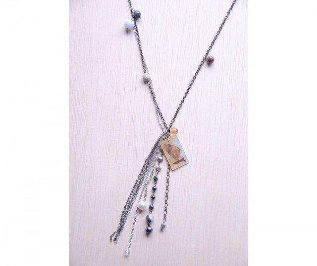 Twilight『Yacht plate Necklace』ヨットプレート ネックレスの画像1枚目