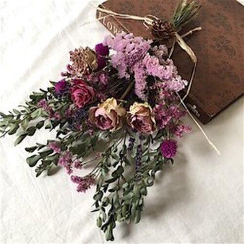 紫のスワッグの画像1枚目
