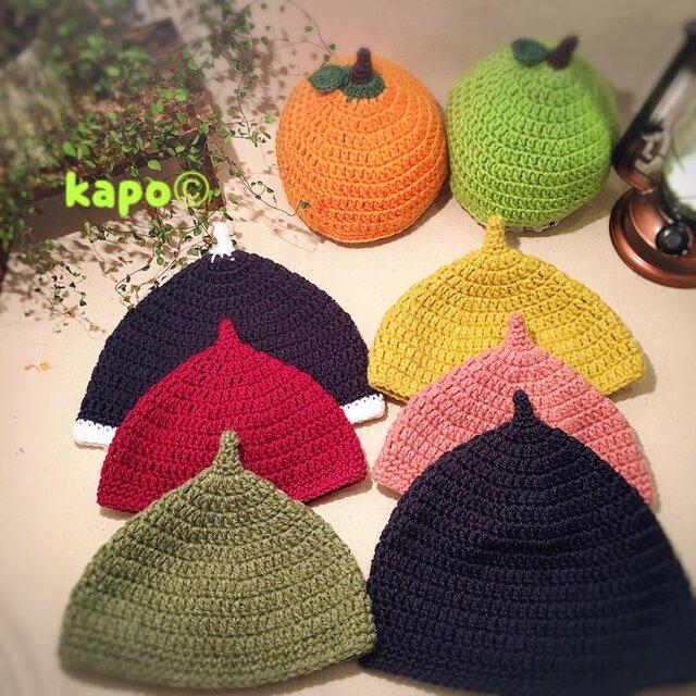 毛糸のどんぐり帽子《大人普通サイズ》