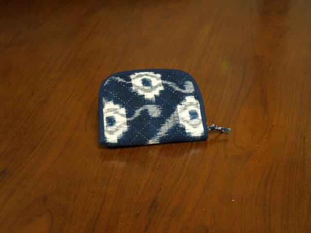 古布の財布の画像1枚目