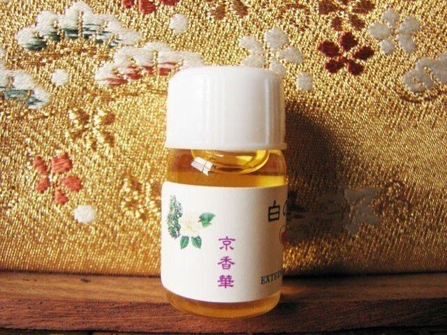 白の華-3ml入りボトル香油(ドロッパー無し)の画像1枚目