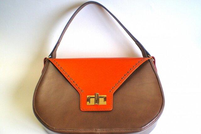 ♦SALE♦ ツートーンのバッグの画像1枚目